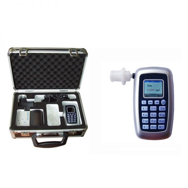 Ethylometer CDP 8800 with Keyboard and optional Printer CEM verified