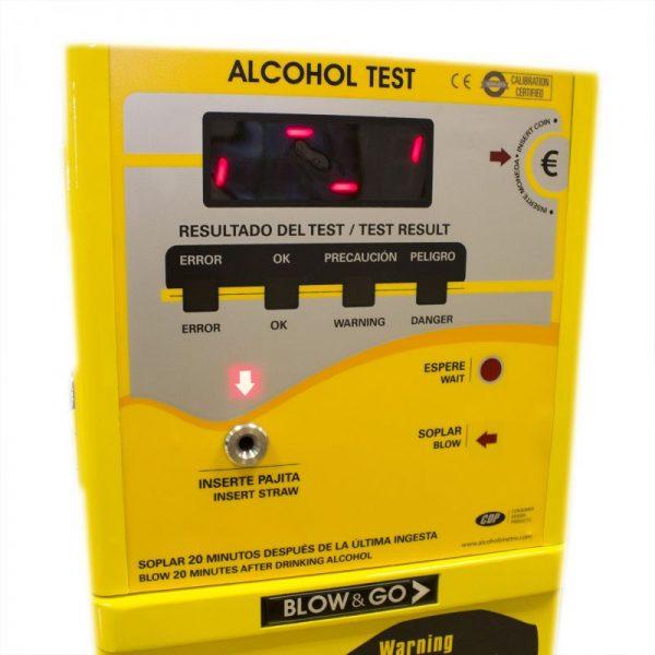 Alcoholímetro a Monedas Blow & Go CDP 4500