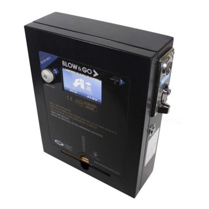 Coin-operated Breathalyzer Blow & Go 4600 Black Digital