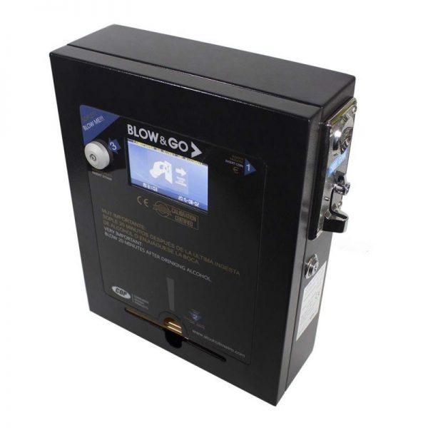 Coin-operated Breathalyzer Blow & Go 4600 Black Digital