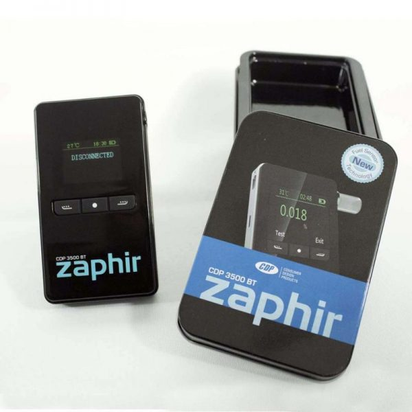 Zaphir CDP 3500 Breathalyzer with Bluetooth 4.0 + 25 Mouthpieces