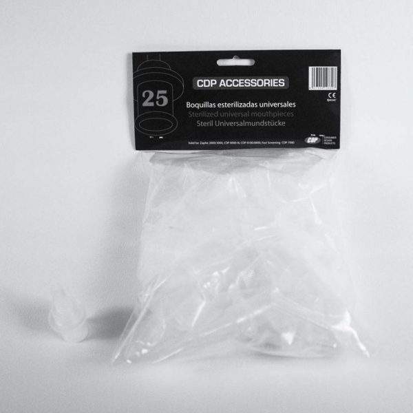 Boquillas Universales Esterilizadas - Pack 25 Uds