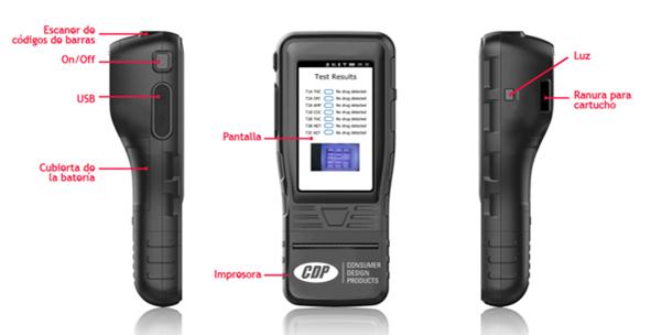 Analizador de Drogas profesional CDP WDTP-10 2