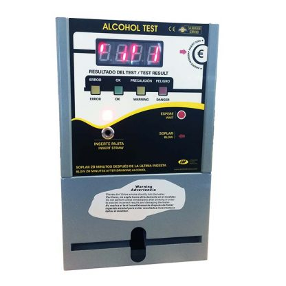 Coin-operated Blow & Go CDP 4500 Vending Breathalyzer