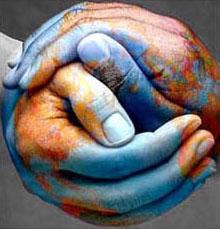 manos simulando el mundo distribuidores internacionales