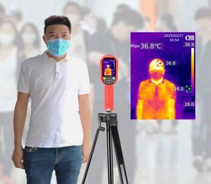 Cámara para medición de temperatura portátil CDP-R200