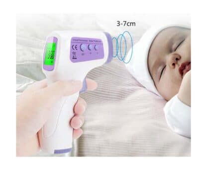 Termómetro infrarrojo digital sin contacto CDPH01