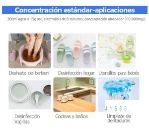 Máquina portátil de fabricación de desinfectante - 300 ml