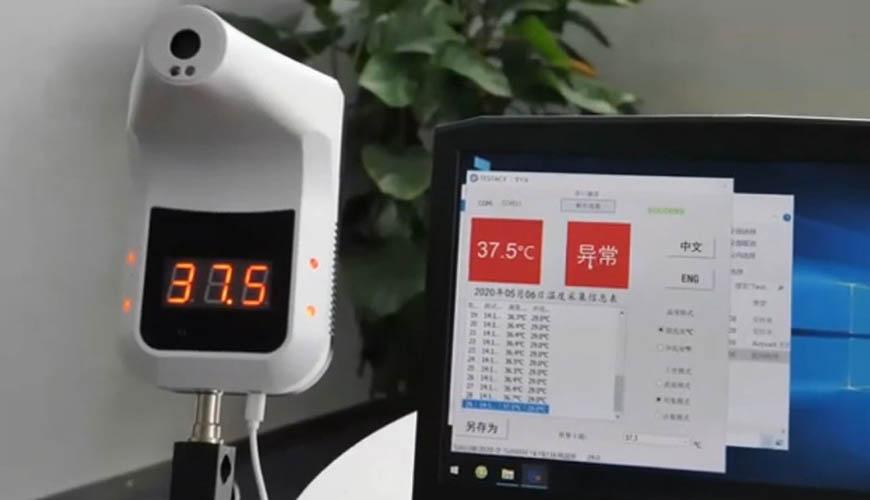 Termómetro manos libres montable CDPK3