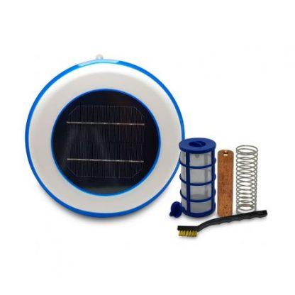 Ionizador solar para piscinas