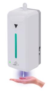 Dispensador automático de gel hidroalcohólico o jabón montado en la pared CDP268