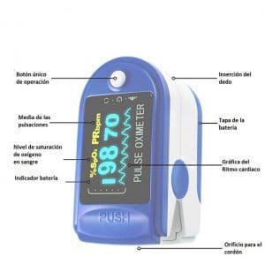 Oxímetro de pulso o pulsioxímetro CDPC01-ES