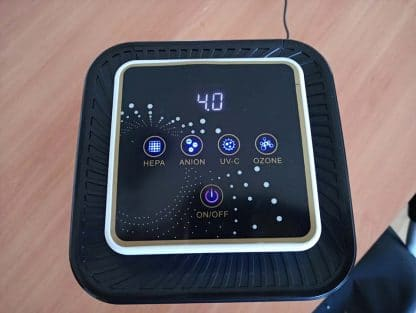 Purificador de aire multifunción HEPA-UV-IONIZADOR-OZONO CDP3120