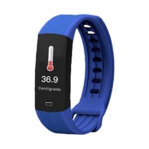 Reloj inteligente de frecuencia cardíaca y temperatura corporal B6W