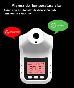 Termómetro sin contacto CDPK3-Pro de instalación fija con descarga de datos a PC