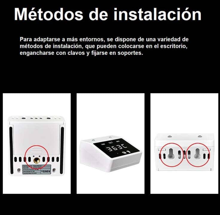 Termómetro infrarrojo digital sin contacto cdp-k2