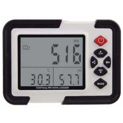 Detector - Medidor de CO2 profesional CDPH2000 con data loger