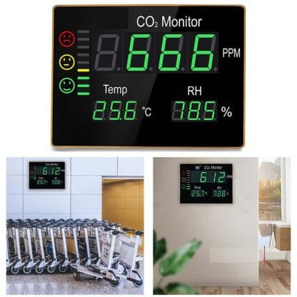 Detector-medidor CO2 CDPH2008