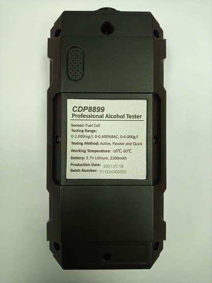 Etilómetro profesional CDP8899 Led