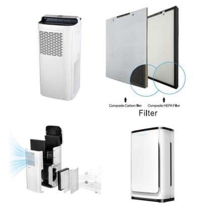 Servicio de alquiler de purificadores de aire profesionales