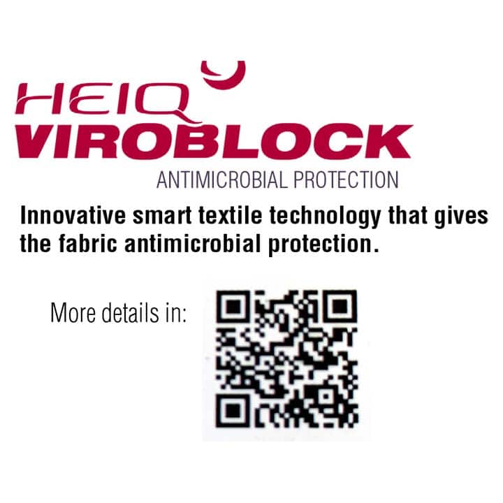 Mascarillas transparentes reutilizables Viroblock cdpmht01
