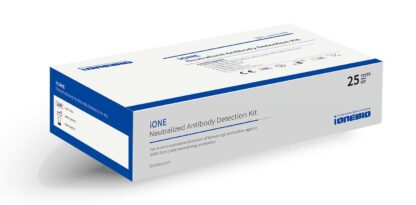 Test rápido iONE de IONEBIO para la detección de anticuerpos neutralizantes COVID19 (SARS-CoV-2)