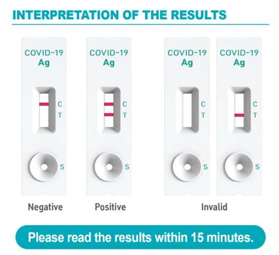 Test de antígenos Nasal GENEDIA W COVID-19 Ag 643K– Pack 20